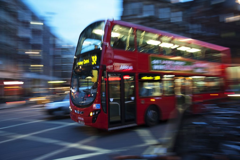 The Demand for UK Bus and Coach Shrinks by -22. % in Q3 1