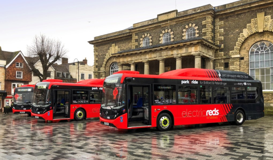 Oxford and Coventry to get all-new Electric bus Fleet 1